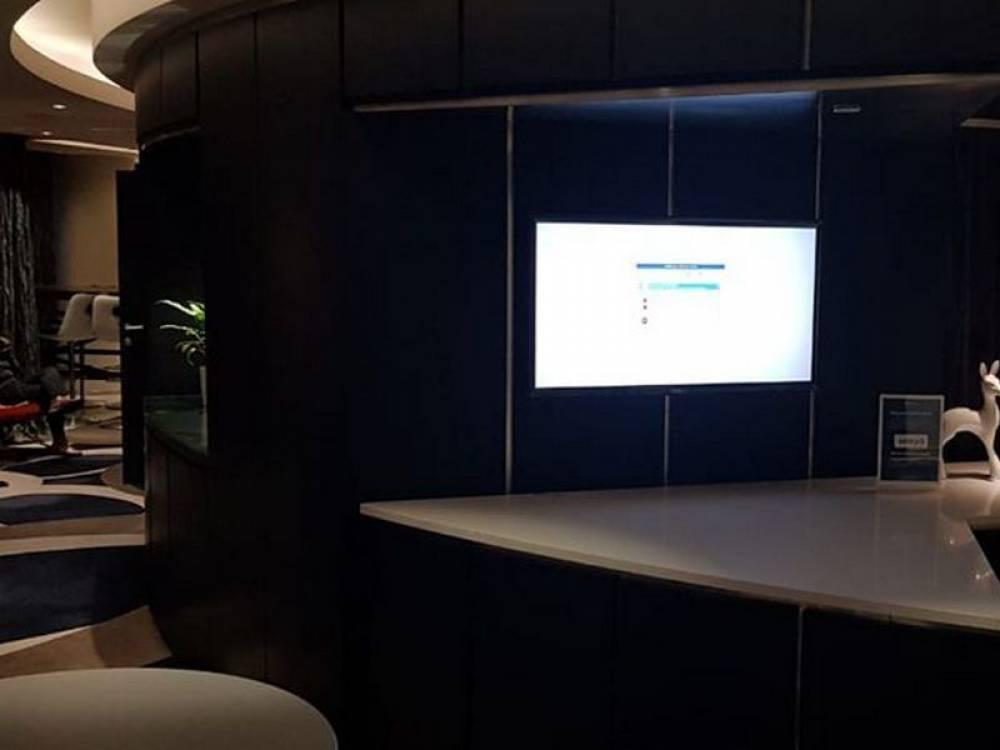 Система digital signage для гостиницы Radisson